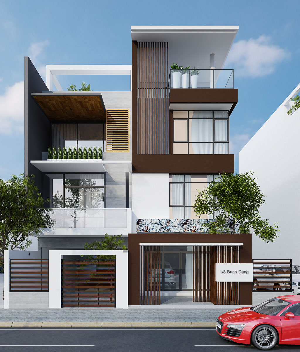 Town house in Tan Phu district